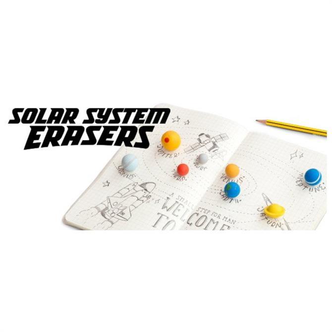 SUCK Planet Eraser Set