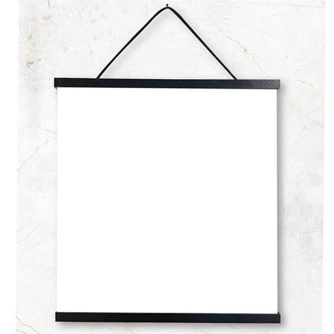 VanillaFly Black Frame 50x2cm
