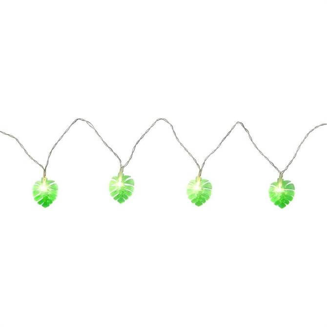 Sunnylife Monstera Leaf Mini String Lights