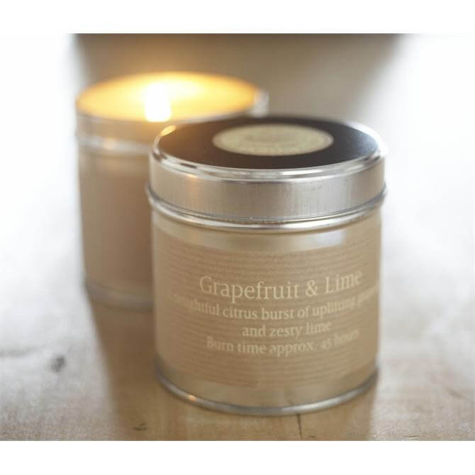 St Eval Candle in a Tin - Grapefruit and Lime