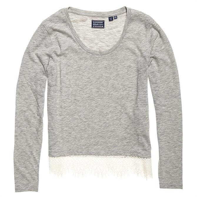 Superdry Ashby Lac Long Sleeve Top
