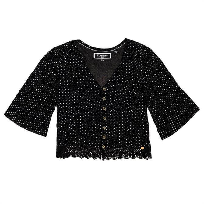 Superdry Josephine Lace Top