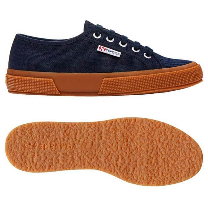 Superga Cotu Classic Navy Gum Canvas Shoes