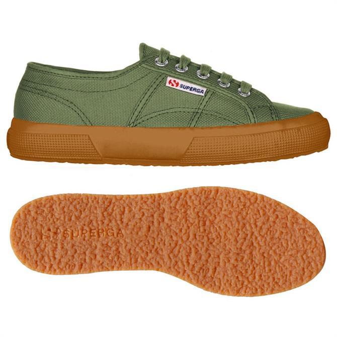 Superga Cotu Classic Green Sherwood Canvas Shoes