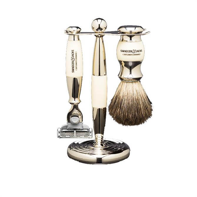 Swagger & Jacks Mach3 Shaving Set