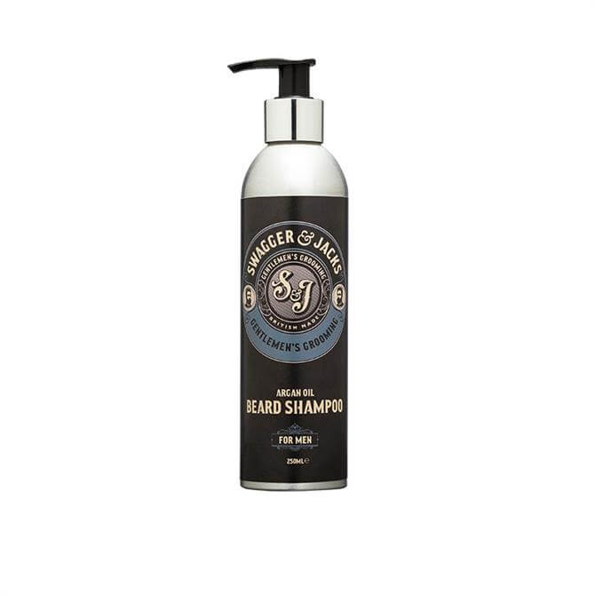 Swagger & Jacks Argan Oil Beard Shampoo 250ml