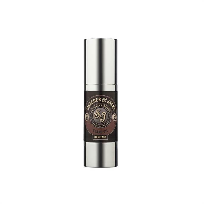 Swagger & Jacks Heritage Beard Oil 30ml
