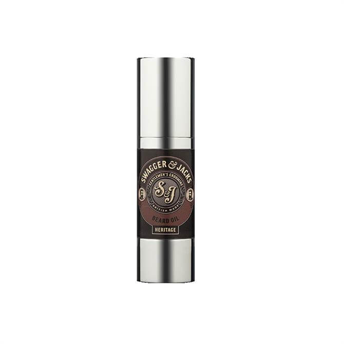 Swagger & Jacks Heritage Beard Oil 100ml