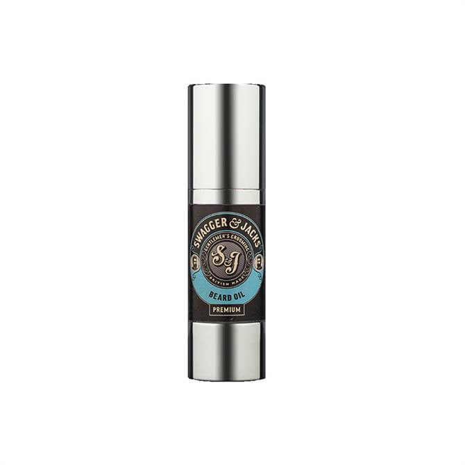 Swagger & Jacks Premium Beard Oil 100ml