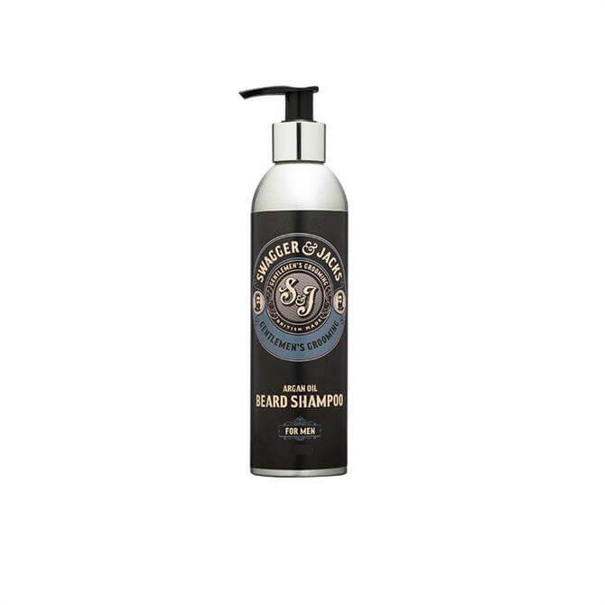 Swagger & Jacks Travel Argan Oil Beard Shampoo 100ml