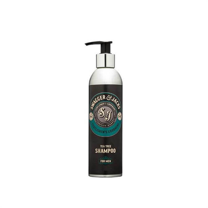 Swagger & Jacks Travel Tea Tree Shampoo 100ml