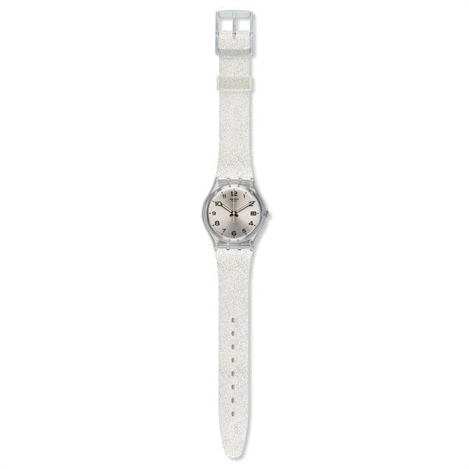Swatch Silverblush Watch
