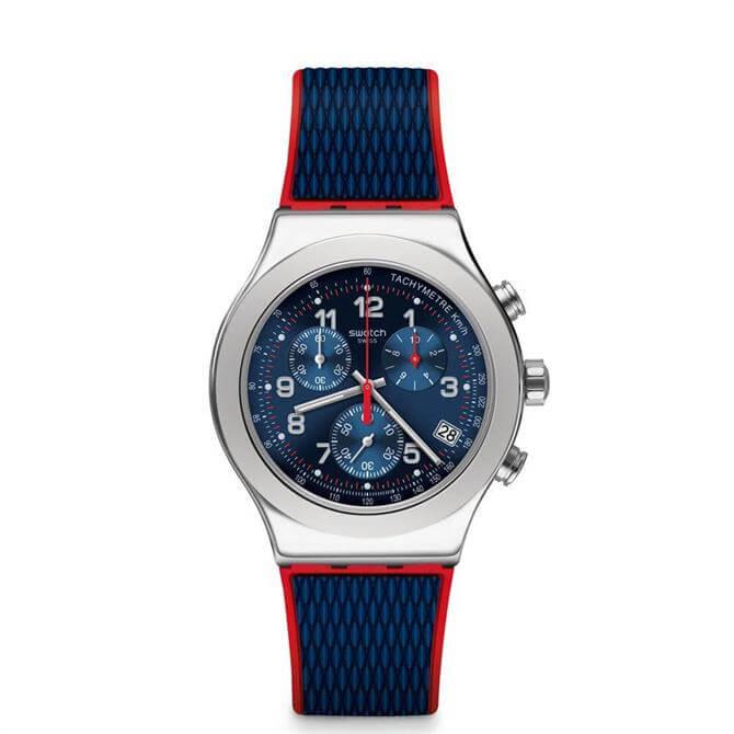 Swatch Secret Operation Chronograph Watch