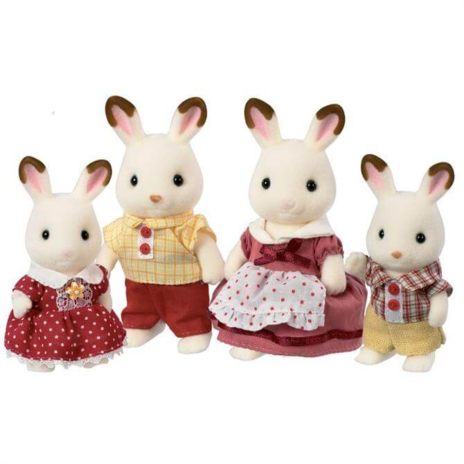 Sylvanian Families Chocolate Rabbit Family 4150