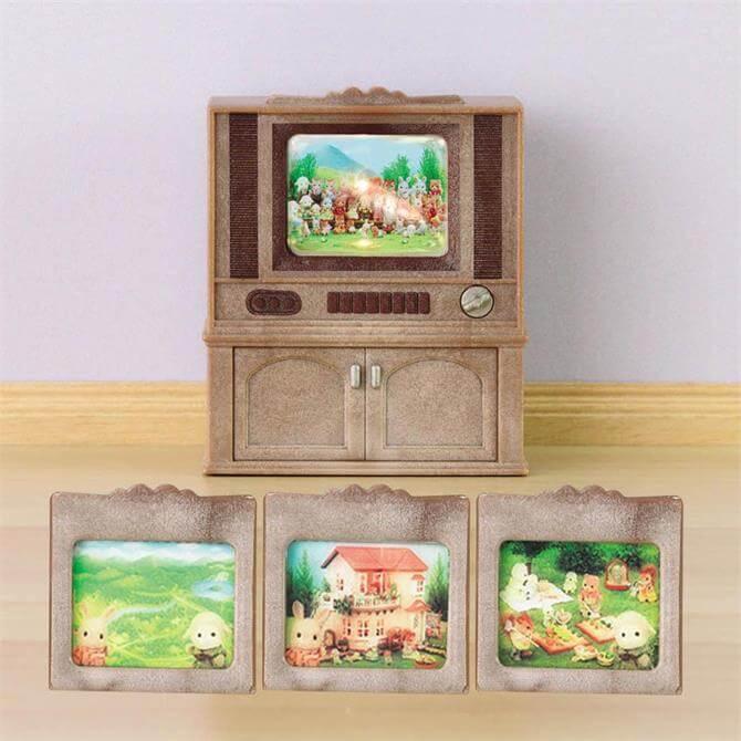 Sylvanian Families Deluxe TV Set