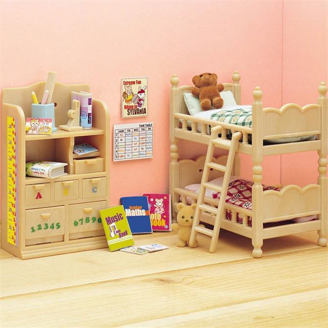 Sylvanian Families Child's Bedroom Furniture