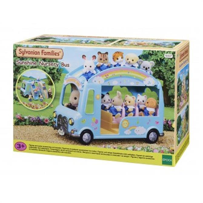 Sylvanian Families Sunshine Nursery Bus