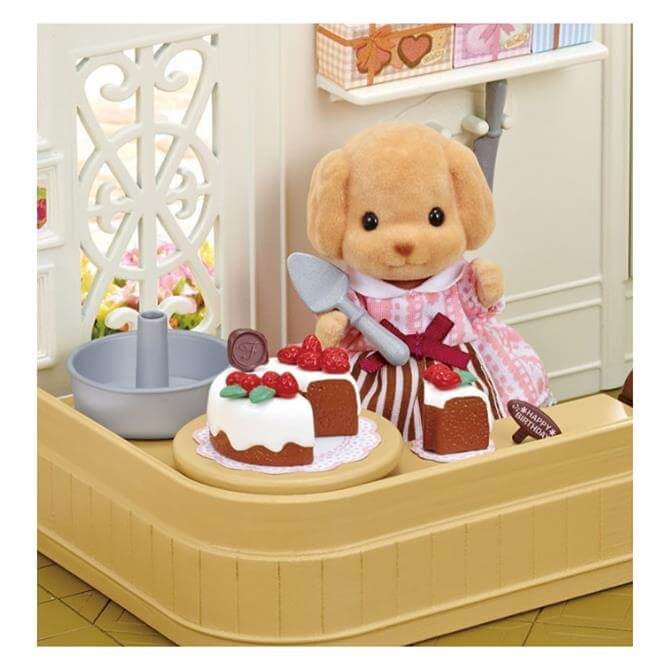 Sylvanian Families Melinda Cakebread and Cake Decorating Set