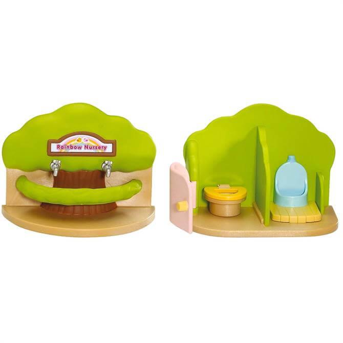 Sylvanian Families Rainbow Nursery Bathroom Set