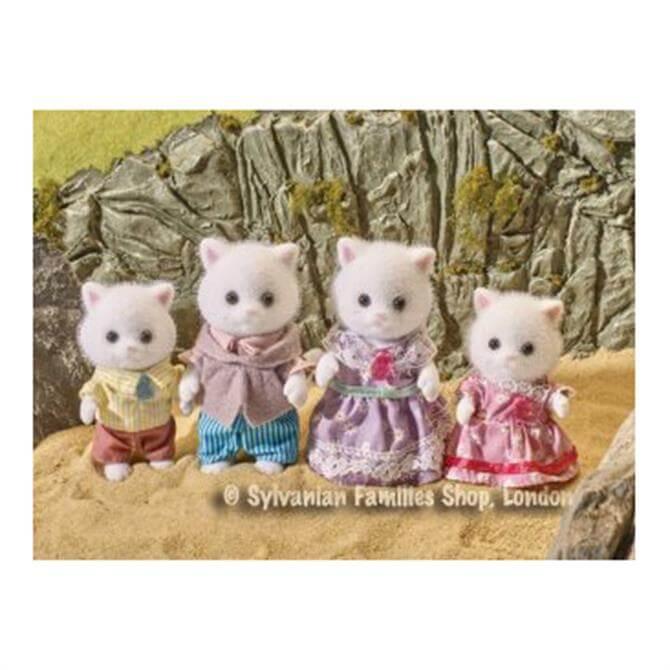 Sylvanian Families Teak Persian Cat Family