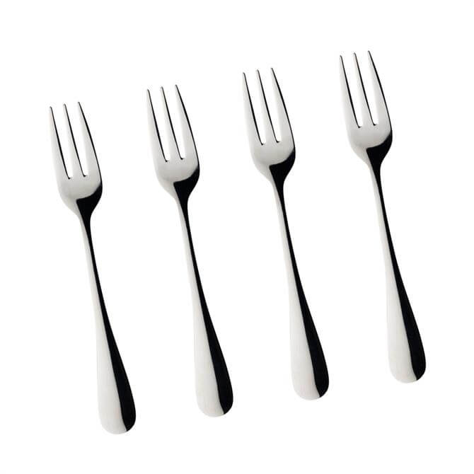Taylor's Eye Witness Maple Set of 4 Cake Forks