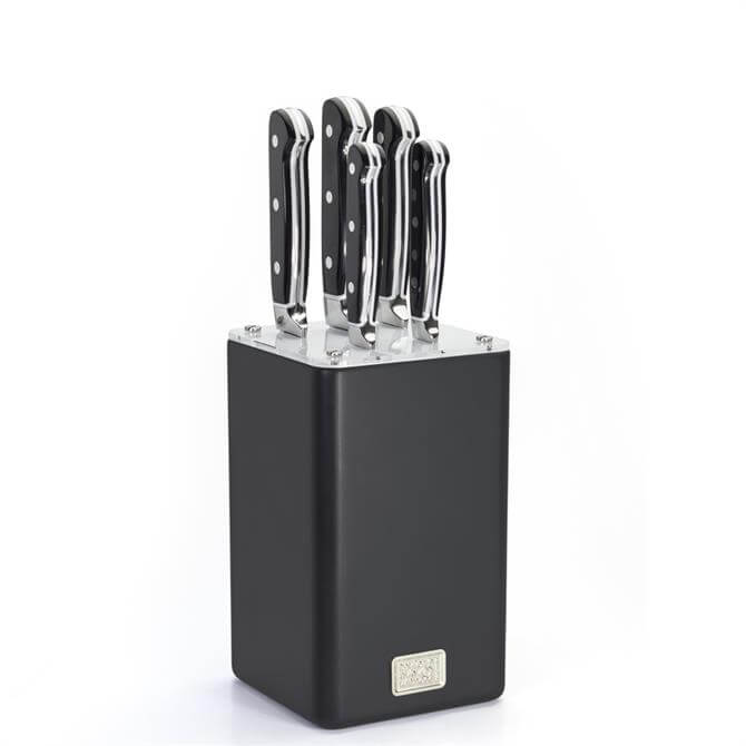 Taylors Eye Witness Memphis 5 Piece Knife Block
