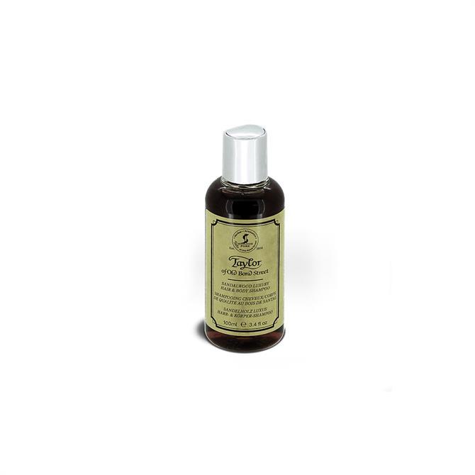 Taylors Sandalwood Hair & Body Shampoo 100ml