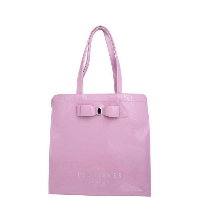Ted Baker Almacon Light Purple Bow Detail Large Icon Bag