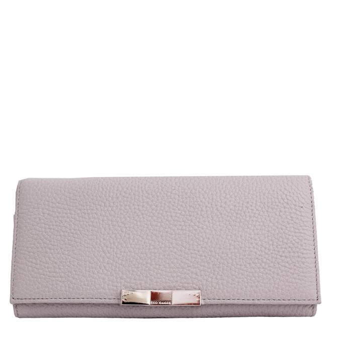 Ted Baker Devyn Bow Flap Leather Matinee Purse