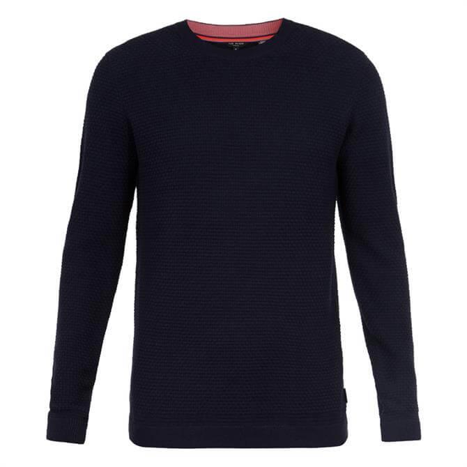 Ted Baker PERCYPI Textured Wool Jumper