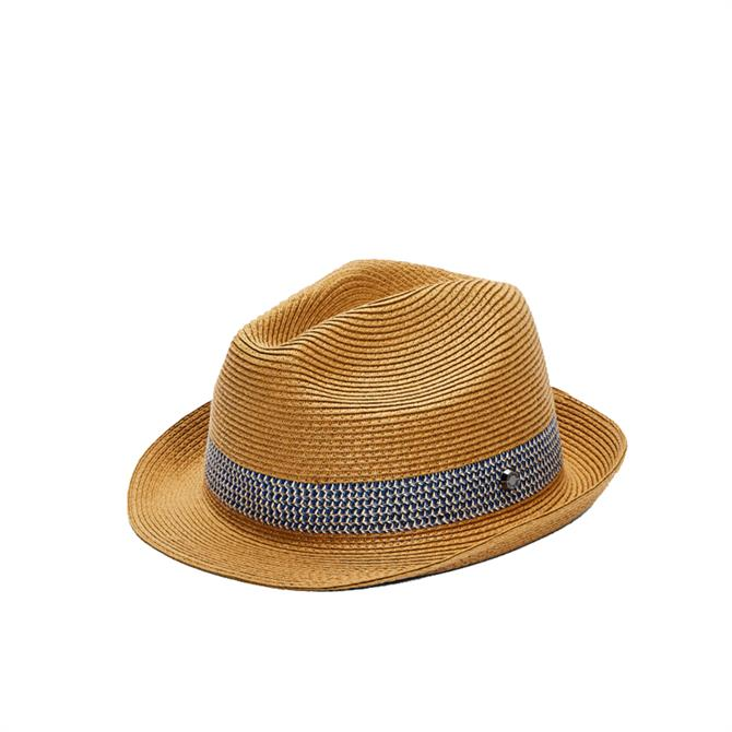 Ted Baker LEMONY Straw Trilby Hat