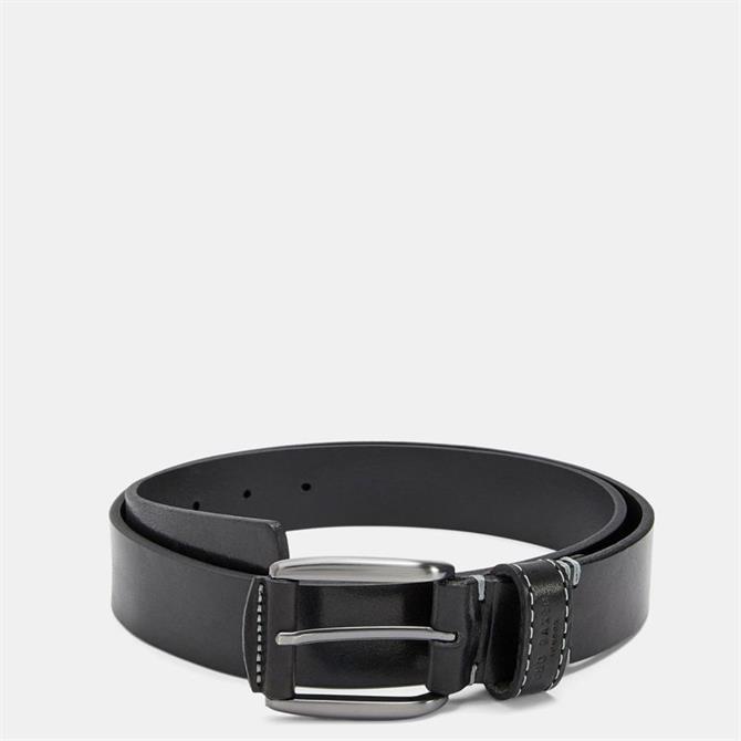 Ted Baker Men's PERC Stitch Detail Leather Belt