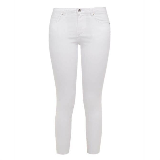 Ted Baker CATARSI Uneven Raw Hem Skinny Jeans
