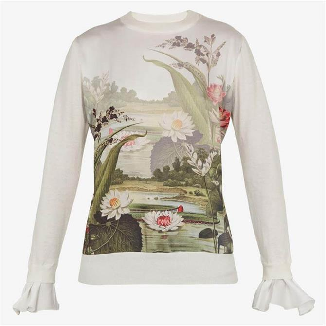 Ted Baker LINZAY Wonderland Print Jumper
