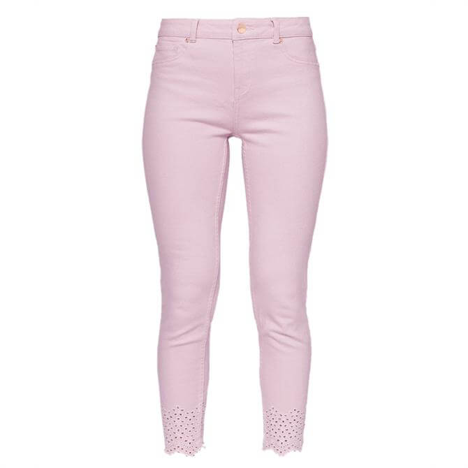 Ted Baker MASSIEE Embroidered Cotton Jeans