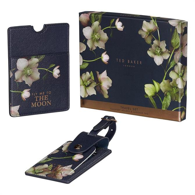 Ted Baker Arboretum Luggage Tag & Passport Set