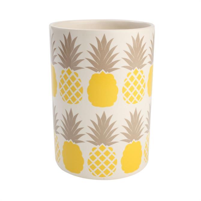 T&G Tutti Frutti Kitchen Utensil Jar: Pineapple