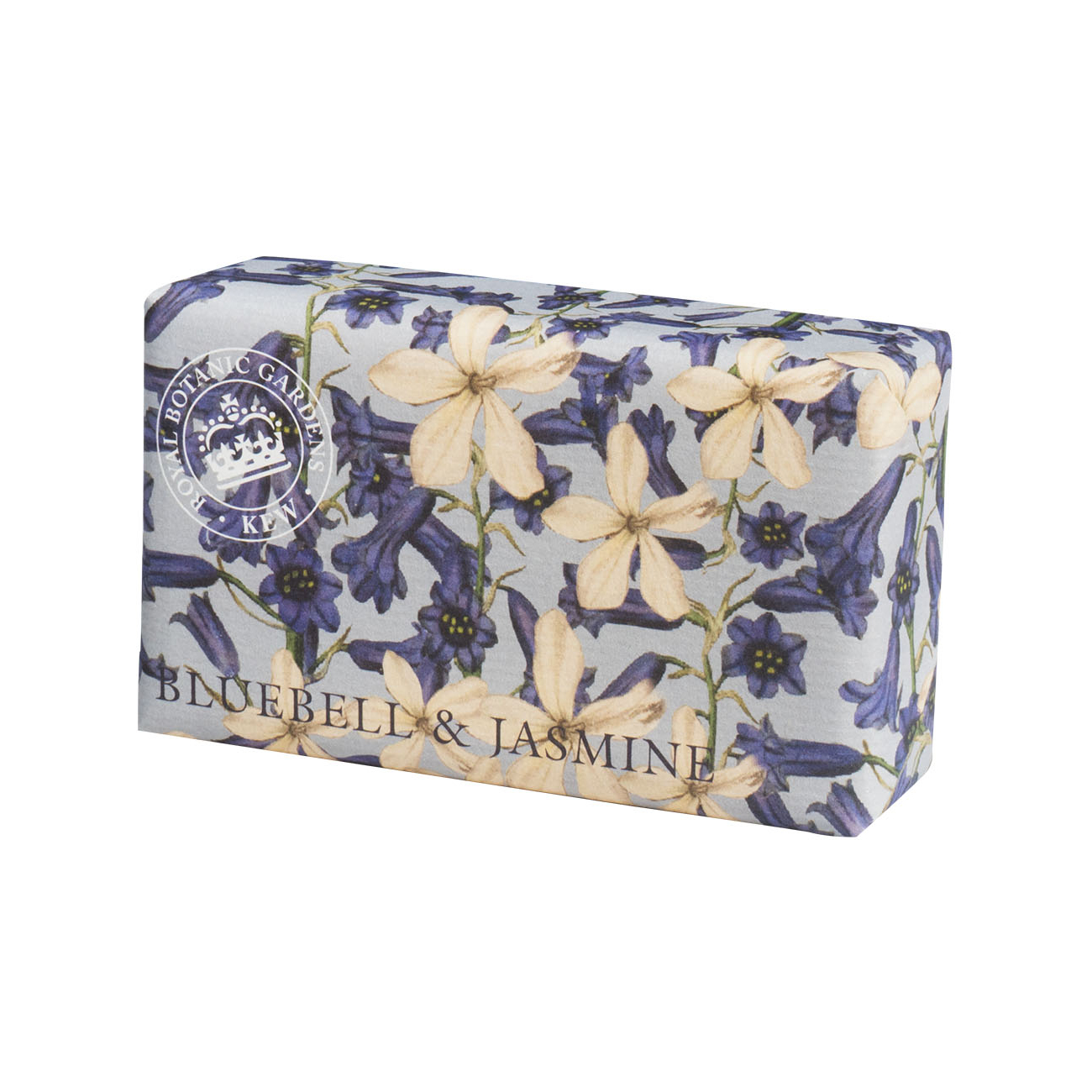 An image of The English Soap Company- Royal Kew Gardens Luxury Soap Range 240g - BLUEBELL & ...