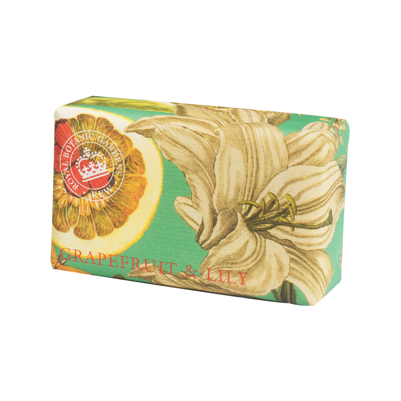 An image of The English Soap Company- Royal Kew Gardens Luxury Soap Range 240g - GRAPEFRUIT ...