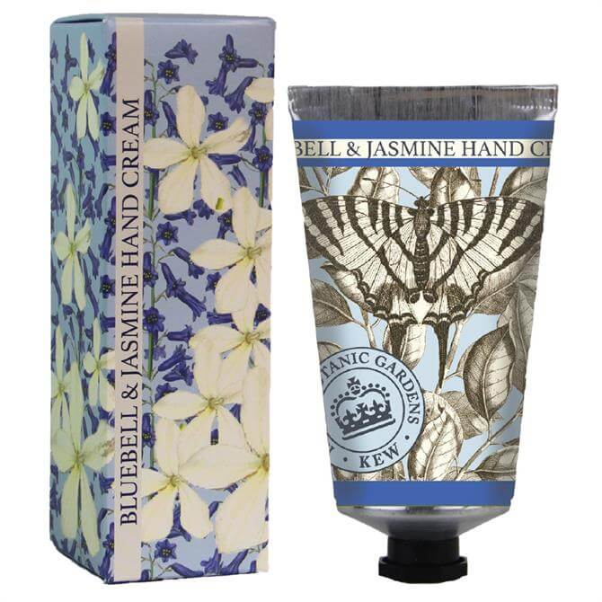 The English Soap Company Kew Gardens Hand Cream Bluebell & Jasmine 75ml