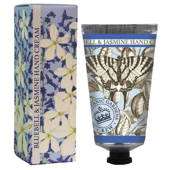 The English Soap Company Kew Gardens Hand Cream Bluebell & Jasmine 75ml
