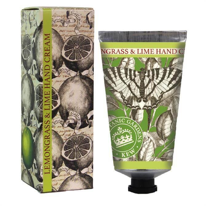 The English Soap Company Kew Gardens Hand Cream 75ml Lemongrass & Lime