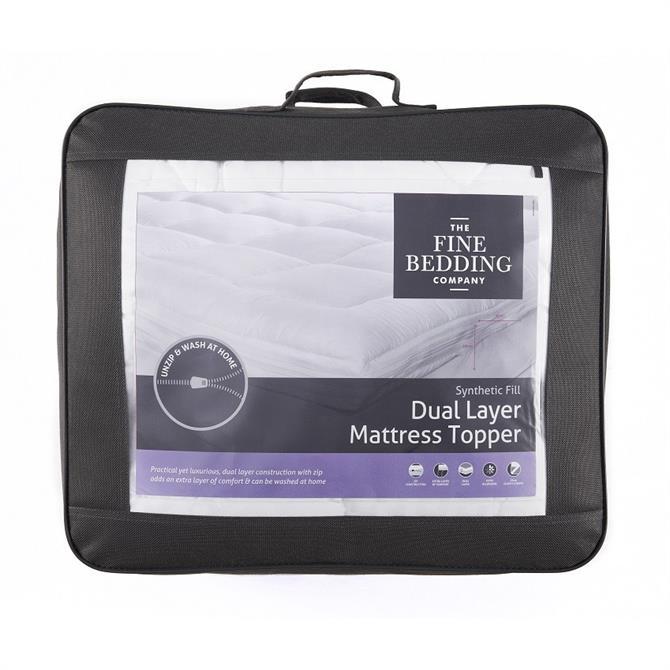 Fine Bedding Company Dual Layer Mattress Topper
