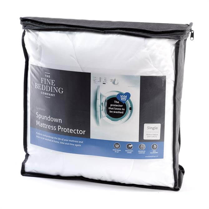 The Fine Bedding Company Spundown Mattress Protector