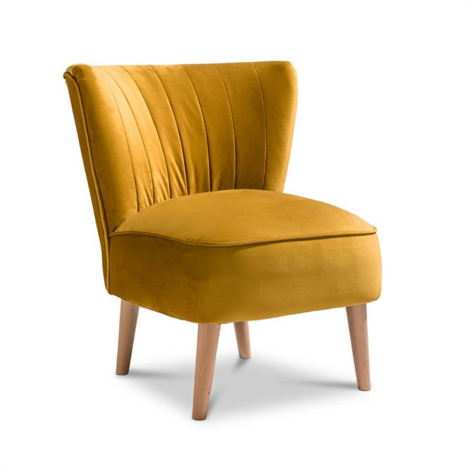 Mumbury Chair In Mustard