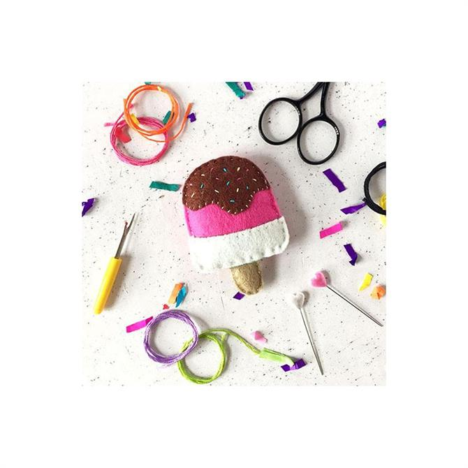 The Make Arcade Lolly Felt Sewing Kit
