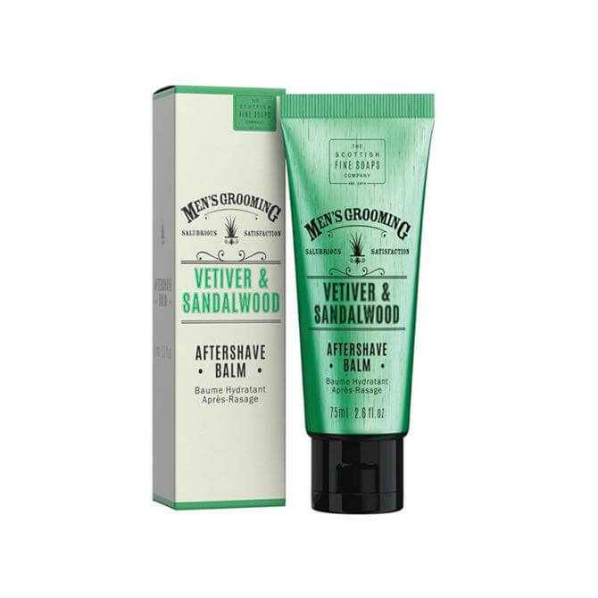 Scottish Fine Soaps Classic Mens Aftershave Balm 75ml