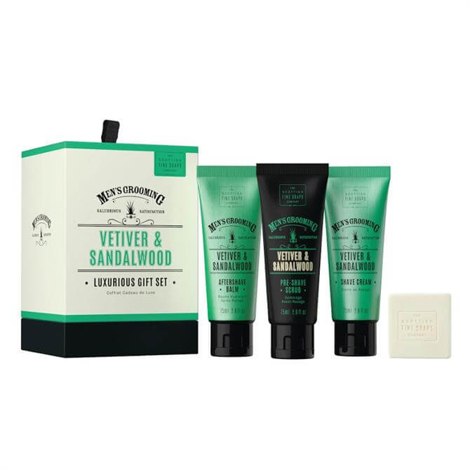 Scottish Fine Soaps Mens Luxurious Gift Set