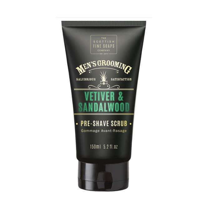 Scottish Fine Soaps Pre Shave Scrub 150ml