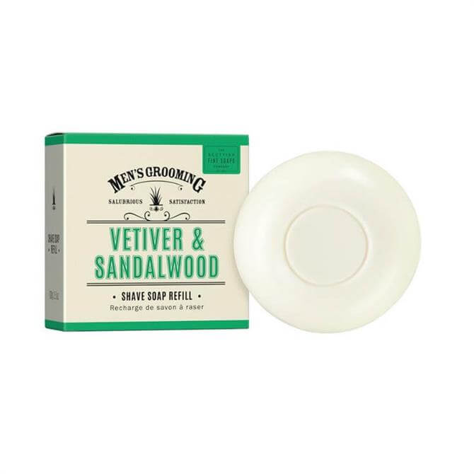 Scottish Fine Soaps Shave Soap refill 100g